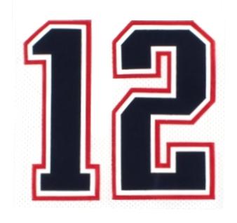 Tom Brady 12
