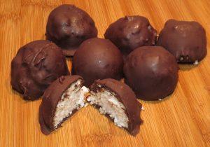 Coconut Truffle Fat Bombs