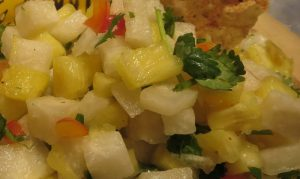 Jicama Pineapple Salsa