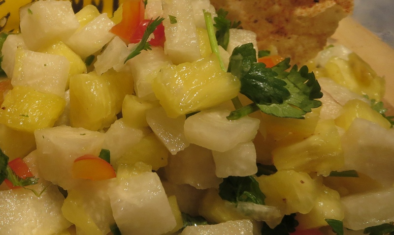 Jicama Pineapple Salsa