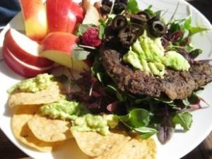 Healthy gluten-free meal